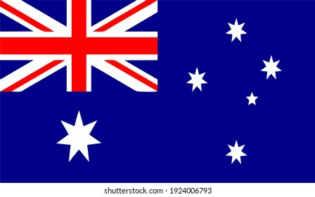 Australia Country Flag with HIgh Quality