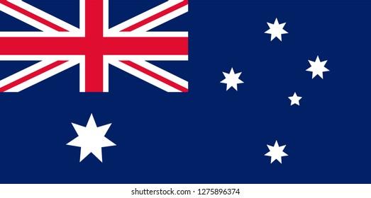 australia day. australia flag