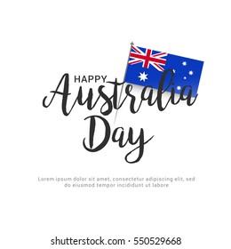 Australia day flag background.