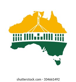 australia parliament logo.