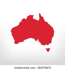 Australia vector icon
