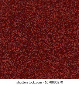 Australian aboriginal hand drawn seamless vector pattern with red dots on dark burgundy background