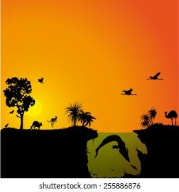 Australian fauna and flora