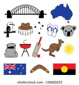 Australian icons & symbols