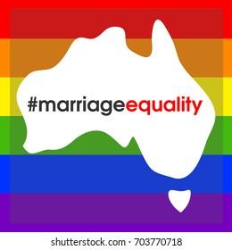 Australian marriage equality.