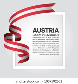 Austria flag background