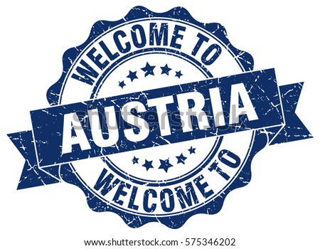 Austria Welcome To Stamp