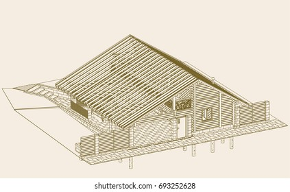 Carport roof stock images royalty free images vectors