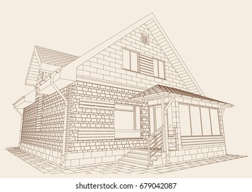 Autocad Drawing Images, Stock Photos & Vectors | Shutterstock