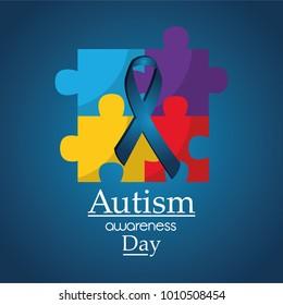 autism awareness day poster medical help