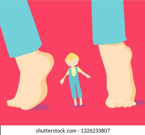Autism. Early signs of autism syndrome in children. Children autism spectrum disorder ASD icons. Signs and symptoms of autism in a child, such as ADHD, OCD, depression, insomnia, epilepsy and hyperact