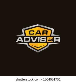Auto  automotive repair logo. Mechanic logo design template