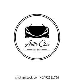 Auto car logo design, icon, Vector, illustration