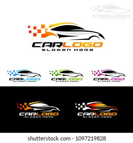 Auto Car Logo for Sport Cars, Rent,wash or Mechanic