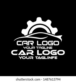 Auto car Logo Template vector icon illustration Template For icon Automotive Industrial