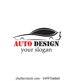Auto car Logo Template vector icon