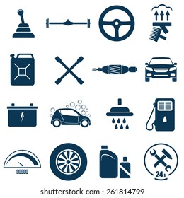 Auto Car Repair and Service Icon