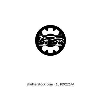 Auto car service logo template