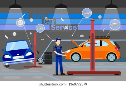 Auto Hydraulic Lift Images, Stock Photos & Vectors | Shutterstock