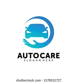 Auto Care logo design template