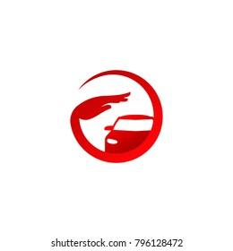 Auto Care Logo, Protecting Car Logo