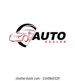 auto dealer car logo