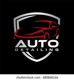 auto detailing car logo