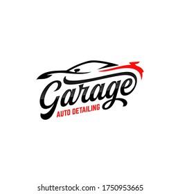 auto detailing logo polisher car  automotive