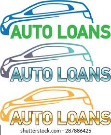 Auto Loan Vector