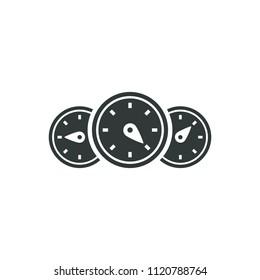 Auto Odometer Icon