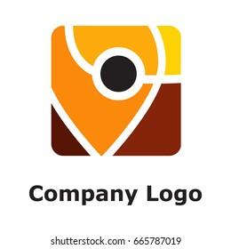 Auto with pin logo