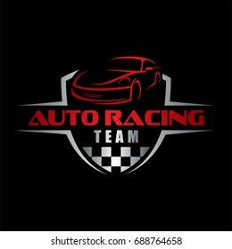auto racing team, car logo