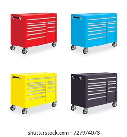 Auto Repair and Collision Shop Technician Mechanic Machinist Engineer Tool Box Cabinet Tool and Die
