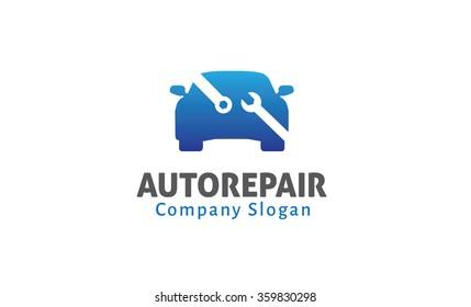 Auto Repair Design Illustration