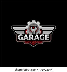 Garage Logo Images Stock Photos Vectors Shutterstock