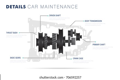 Auto service. Line composition. Machine  technology operations. Diagnostics machine centre. Car maintenance. Awesome details really style. Automobile engine pictogram and icons for web.
