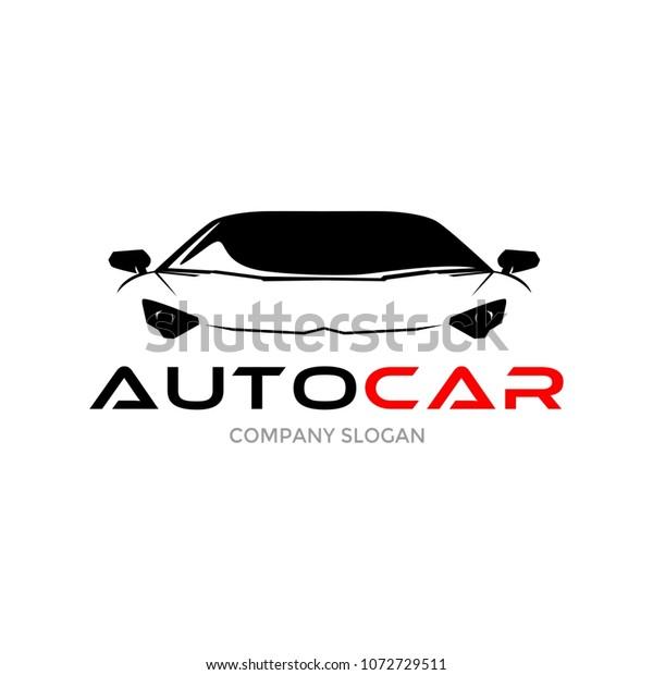Auto Sport Car Logo Design Stock Vector Royalty Free 1072729511