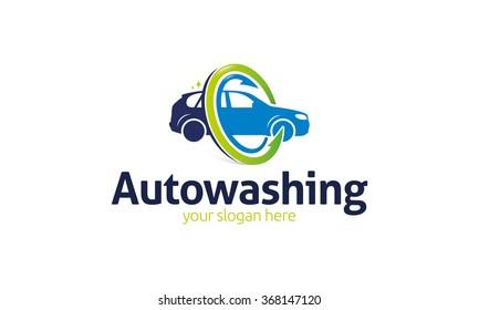 Auto Washing Logo