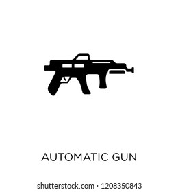 Automatic Gun icon. Automatic Gun symbol design from Army collection.