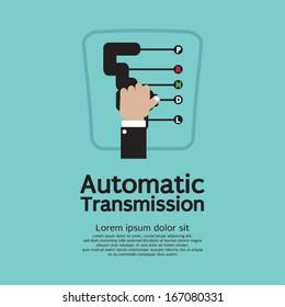 Automatic Transmission Vector Illustration