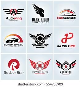 Automotive Car Logo Set