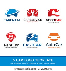 Automotive Car Logo Template Design Vector