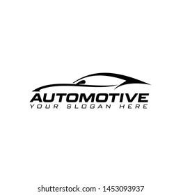 Automotive car logo template vector illustration