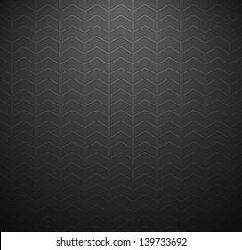 Automotive Chevron zigzag seamless pattern