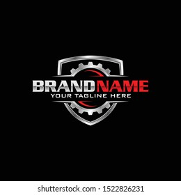 Automotive Gear Logo, Perfect logo for business related to automotive industry.