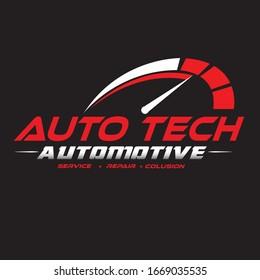 automotive logo concept. automotive shop