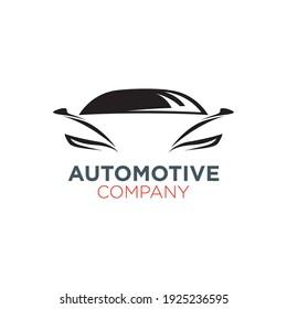 automotive logo design with geometry
