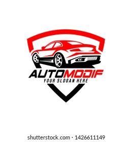 automotive logo vector car detailing garage