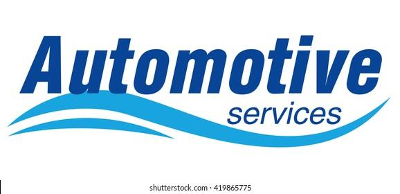Automotive services Logo Template Design Vector
