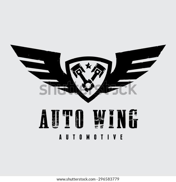 Automotive Wing Vector Logo